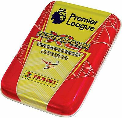 2019 2020 PANINI Adrenalyn XL Premier League Pocket Collector Tins with 38 Cards