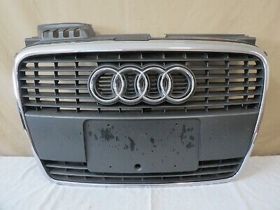 ✅ 05 06 07 08 09 Audi A4 Front UPPER Radiator Bumper Grill Grille Molding OEM
