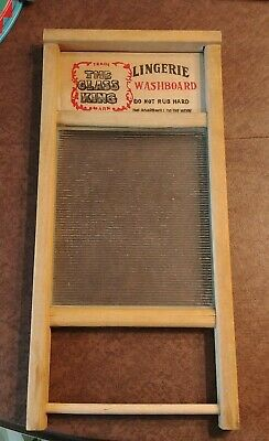 National Washboard Co. No. 863 Chicago Memphis USA Washboard Lingerie 18""