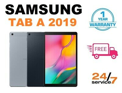 "Brand New Samsung Galaxy Tab A 10.1"" Tablet WiFi (2019) - 32 GB Black & Silver"