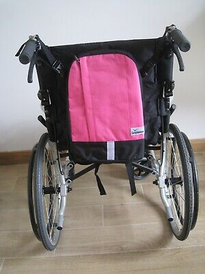 Pink  Wheelchair bag  Mobility Wheelchair  Rucksack