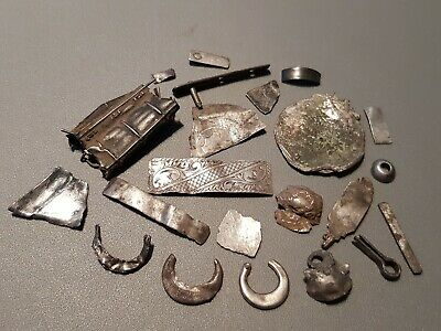 Superb VR. lot of Celtic to post medieval silver. A must read description L152p