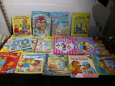 Berenstain Bears Children's Picture Books Lot of 61 Soft Cover and Hard Cover