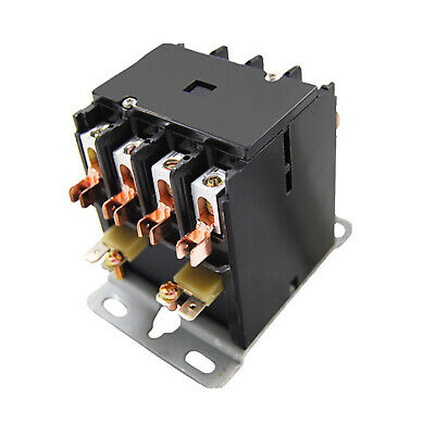 Packard C430B Contactor 4 Pole 30 AMPS 120 Coil Voltage