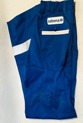 Vintage original SABENA  working trousers airplane Aviation