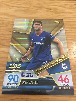 Match Attax Ultimate 2018/19 Gary Cahill Match Attax Legends Card No. 128 Mint