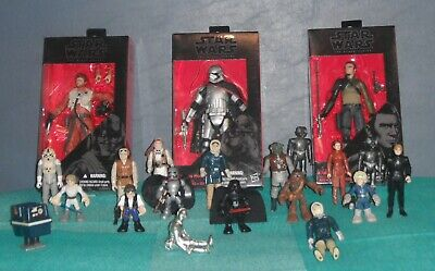 Star Wars Action Figures Vintage Mixed Lot 1970s - ETC.…Some New & Used Items