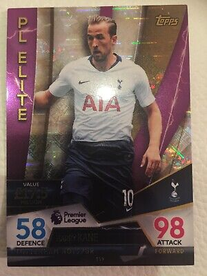 Topps MATCH ATTAX ULTIMATE HARRY KANE PL ELITE Card No 159 Tottenham Hotspur