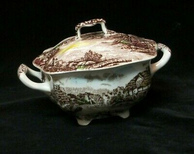 Johnson Brothers OLDE ENGLISH COUNTRYSIDE Sugar Bowl & lid