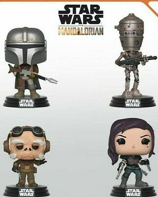 Star Wars The Mandalorian Funko Pops- Pre-Order Now For October 2019
