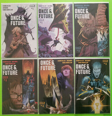 Once and Future #1 #2 #3 Multiple Printings NM or Better Boom! 2019