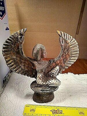 rare antique ancient egyptian statue godess ISIS winged,health-wisdom1820-1740BC