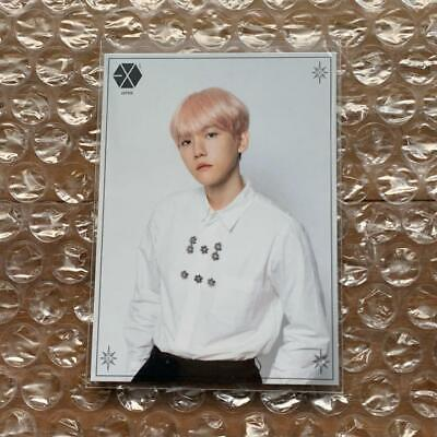 EXO PLANET 5 EXplOration JAPAN BAEKHYUN FC photocard photo card