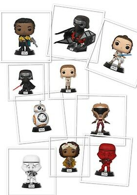 Star Wars The Rise of Skywalker Funko vinyl Pop! Pre-Order For Oct-Nov 2019