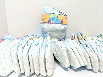 2006 LUVS Blue's Clues Diapers Size 1 Loose No Box 24 Count + 1 Size N Tigger