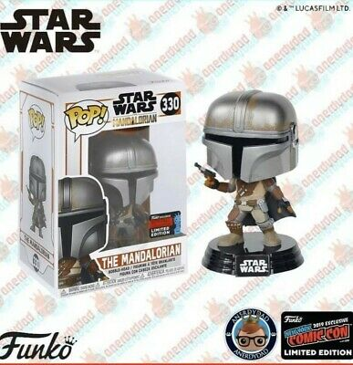 Star Wars The Mandalorian Pop! NYCC 2019 Shared Excl.PreOrder
