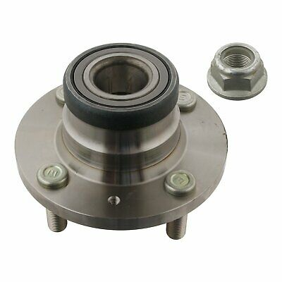 Rear Wheel Bearing Kit Inc Wheel Hub & Axle Nut Fits Mitsubishi Caris Febi 31478