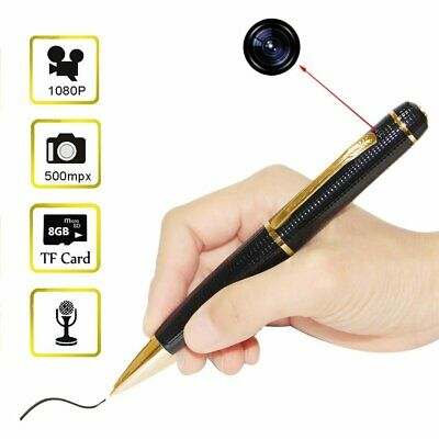 720P HD Mini Pen Camera Camcorder DVR Video Recorder Support 32GB TF Card QQ
