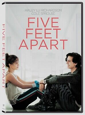 Five Feet Apart DVD New and Unopened! Free Shipping!