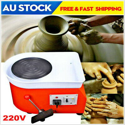 25cm Forming Machine DIY Clay Tool 250w Electric Pottery Wheel Machine 1d