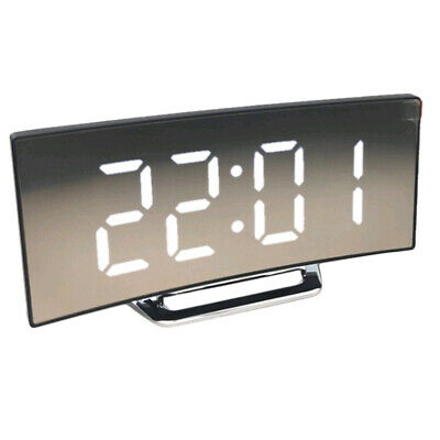 LED Display Alarm Clock Digital  Clock Ultra Large Display Mirror Clock
