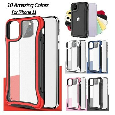 Lens Protection All-inclusive PC+TPU Anti-drop Cover For iPhone 11 11 Pro 7 8