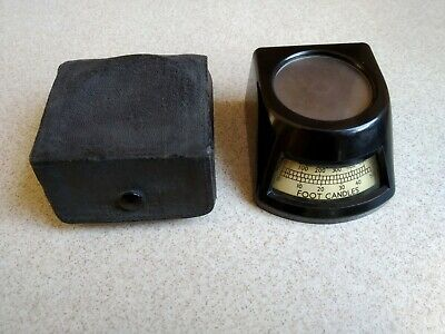 Vintage Lux Illumination Meter Model M903