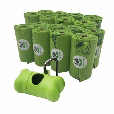 Biodegradable degradable Large Dog poo bag Bags Green Eco-Friendly Pet Poop NEW