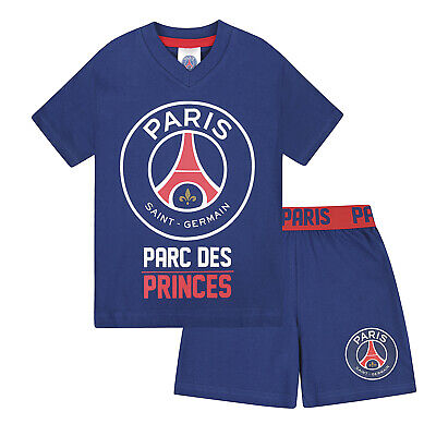 PSG Official Football Gift Boys Short Pyjamas
