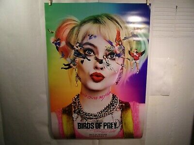 Birds Of Prey Original Theatrical Poster 27x40 2020 Harley Quinn