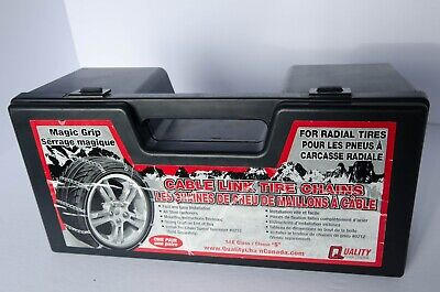 Cable Link Tire Chains by Quality Unused  Good Condition