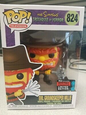 Funko Pop! Evil Groundskeeper Willie NYCC 2019 Exclusive Official Sticker