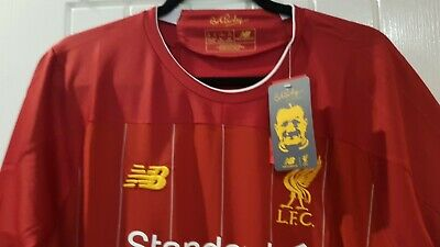 LIVERPOOL FC 19/20 HOME Football Shirt Mens  - Large - RED - New Unwanted Gift