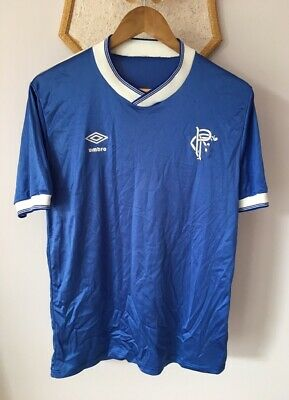 Glasgow Rangers 1984 1985 1986 Home Football Shirt Umbro Original Vintage Rare