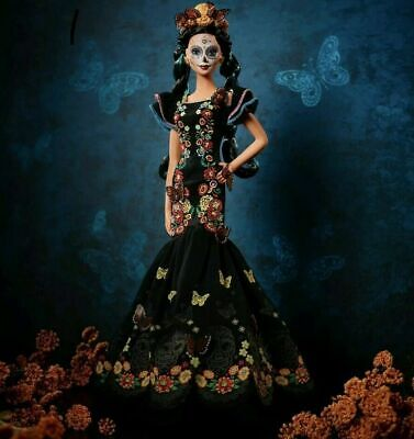 Barbie Day Of The Dead - Dia Del Los Muertos Doll Limited Edition Ships Now