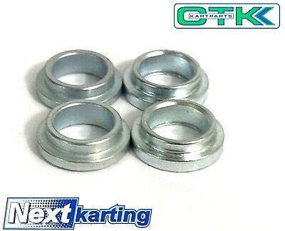 TonyKart / OTK Genuine Rose Joint Top Hat Spacer Pack of Four - Go Kart Karting