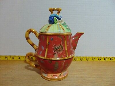 Tracy Porter Peacock Tea For One Teapot And Mug The Artesian Road Collector