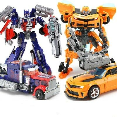Transformers Optimus Prime Bumble Bee Classic Kids Action Figure Toy Xmas Gift