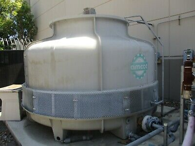Amcot St-150 5-Hp 150 Ton Water Cooling Tower 318 Gpm 1,800K Btu_Looks Good_$$!~