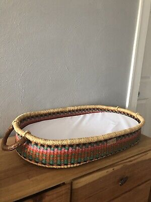 Plum and Sparrow Moses Basket