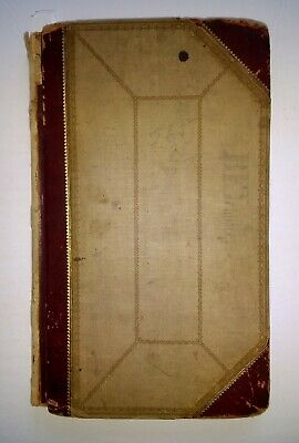 ANTIQUE HANDWRITTEN MEDICAL BOOK Medicine/Winchester Kentucky KY VERY RARE 1800s