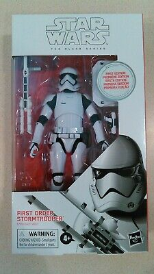"Star Wars The Black Series First Edition 6"" First Order Stormtrooper #97"
