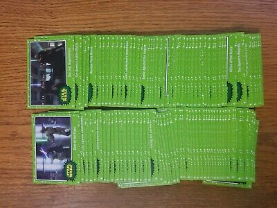 2019 Star Wars Journey to Rise of Skywalker Green Parallel #1-110 Pick Your Card