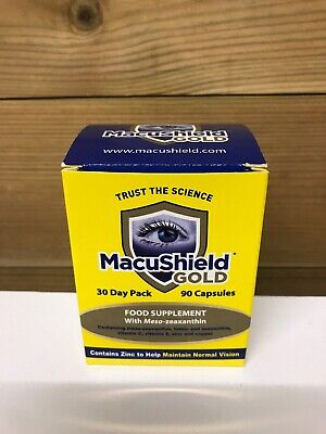 MacuShield Gold Capsules 1 Month Supply - NEW