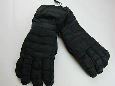 Womens Quilted Ski Gloves - C9 Champion - Black - One Size - NWT