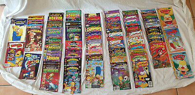 Massive Simpsons, Futurama, Treehouse of Horror, Ren & Stimpy and Others Comics.