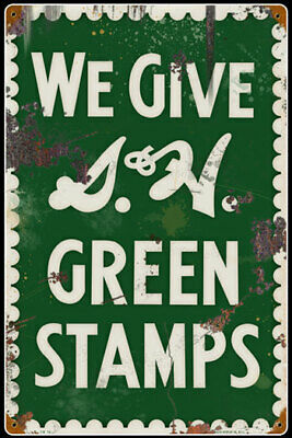 S&H Green Stamps  Advertising Sign