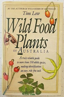 Wild Food Plants of Australia  Tim Low 1988 Hardcover