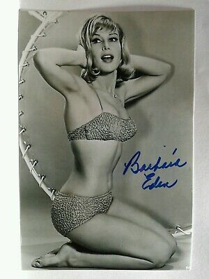 BARBARA EDEN Authentic Hand Signed Autograph 4X6 Photo - I DREAM OF JEANNIE