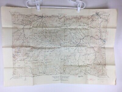 1920's USGS Topographic Map Denver Mountain Parks, CO Quadrangle Vintage
